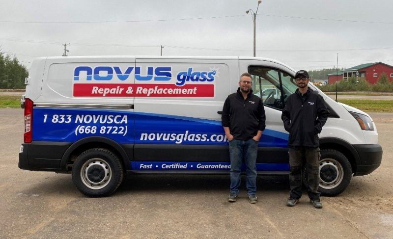 NOVUS Glass Hay River, Northwest Territories.